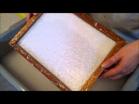 Pulp & Deckle: Making Recycled Handmade Paper