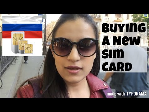 HOW TO BUY A SIM CARD IN RUSSIA|| INDIANS IN RUSSIA
