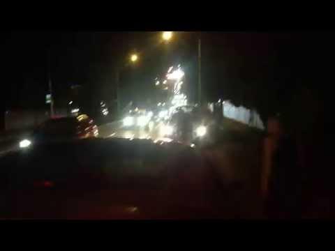 Toorak Road - 3 Car Smash - Melbourne Victoria - Traffic Stopped