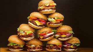 ТОП 10 вкусных бургеров в мире и их рецепты !