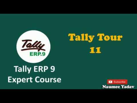 Tally Tour 11 (Memorandum, Reverse Journal, Scenario, Budgets & Optional Vouchers)