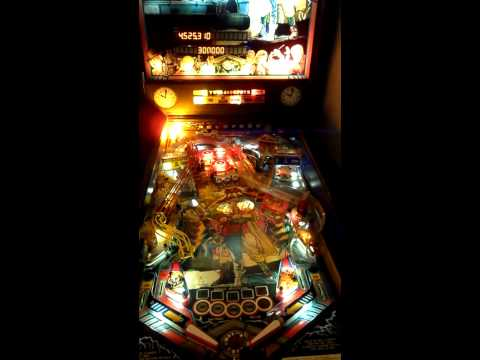 Back To The Future Pinball Gameplay