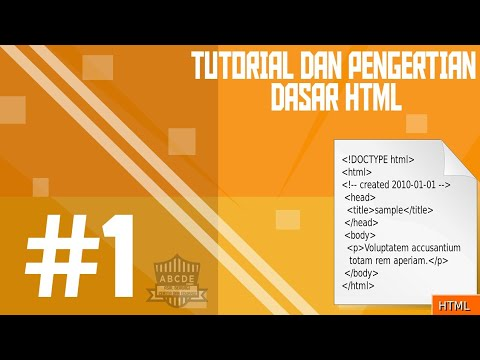 #1 Tutorial Dan Pengertian Dasar Html,size Text Dan Background