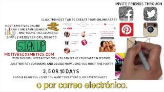 ¡Organiza una Fiesta Motives® en línea y gana un reembolso en efectivo! Thumbnail