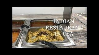 Indian Restaurant in USA // Tamil vlog