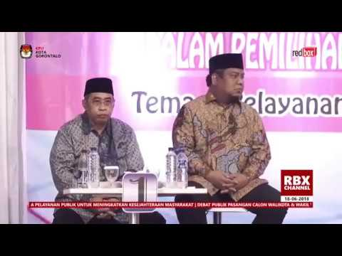 [ Full ] Debat Calon Walikota Gorontalo 18 Juni 2018