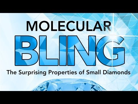 Science of SLAC   Molecular Bling: The Surprising Properties of Small Diamonds