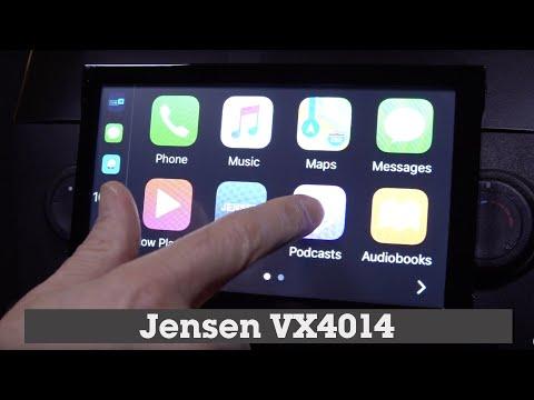 Jensen VX4014 Display And Controls Demo | Crutchfield Video