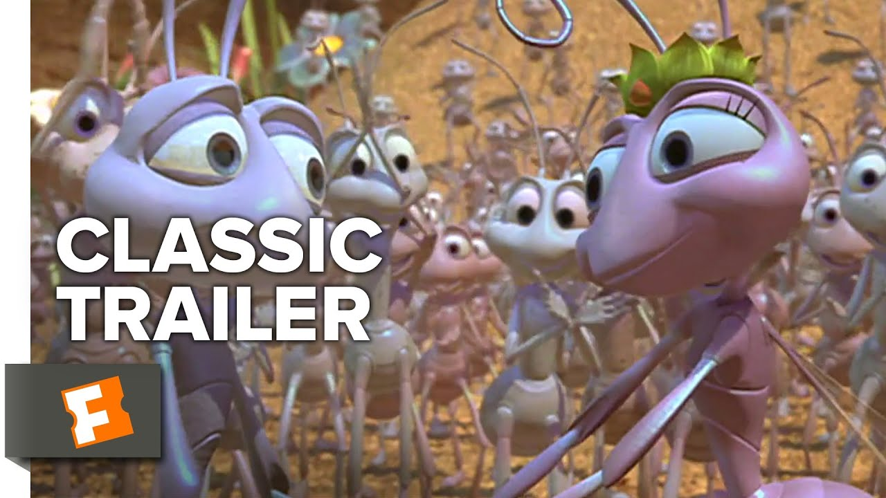 A Bug S Life 1998 Trailer 1 Movieclips Classic Trailers Youtube