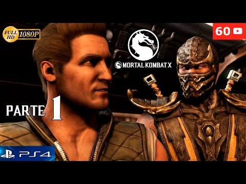 Mortal Kombat X Parte 1 Modo Historia Español Gameplay PS4 | Capitulo 1 Johnny Cage 60fps