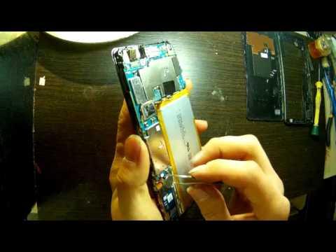 Как разобрать Sony Xperia C4, разбор Sony C4