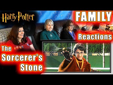 Harry Potter | The Sorcerer's Stone | FAMILY Reactions | Fair Use