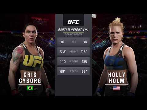 """UFC 사이보그 VS  홈  """" 타이틀 매치~!! """""""