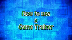 How to Use a Game trainer