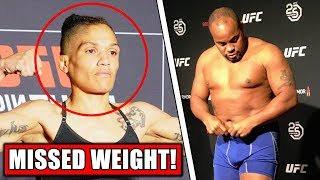 Sijara Eubanks Misses Weight for UFC 230; Fans roast Eubanks for missing weight