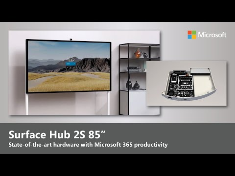 Microsoft Surface Hub 2S 85"