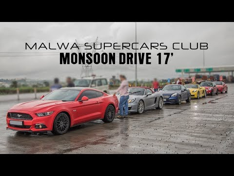 Monsoon Drive 17' | Janapav | Malwa Supercars Club | Indore | India