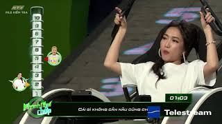 """Diệu Nhi """"sáng tạo"""", đặt luật mới cho chương trình   HTV NHANH NHƯ CHỚP   NNC #17"""
