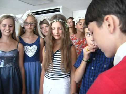 свадьба в Артеке детский лагерь Морской