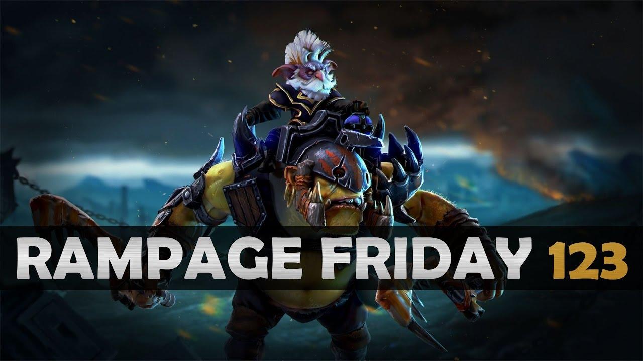 Dota 2 Rampage Friday - EP 123 - YouTube