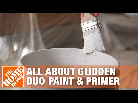 All About Glidden Duo Paint & Primer- The Home Depot