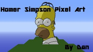 Download The Simpsons Pixel Art Part 1 Homer Videos Dcyoutube
