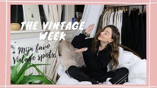 DIT ZIJN MIJN FAVO VINTAGE WINKELS! o Vintage Week