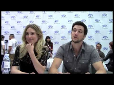 Falling Skies Sarah Carter, Drew Roy Interview Season 5 - Part 2