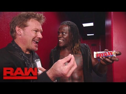 Chris Jericho talks about getting a Payday: Raw, Oct. 10, 2016