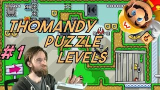 Galoombas on TIMEOUT! | Thomandy PUZZLE LEVELS!! [SUPER MARIO MAKER]