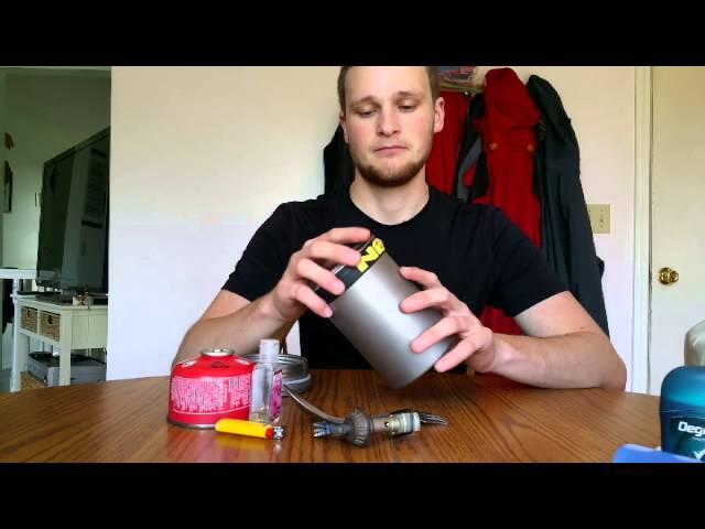 Sub 1LB backpacking/kayaking titanium cook kit!