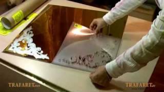 Мастер-класс по матированию стекла(, 2010-04-20T13:42:51.000Z)