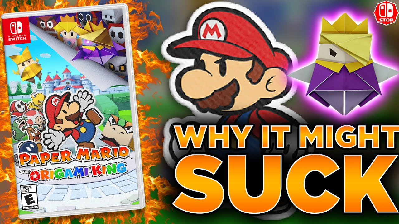 Why Paper Mario The Origami King Could Be TERRIBLE!