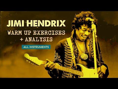 'Purple Haze' Hendrix  riff analysis + corollary exercises all instruments Mp3