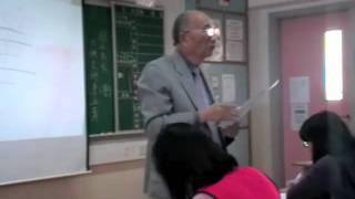 方鏡熹老師主講 《國學講座-對聯》第六節