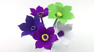 Decorative Flowers Making | Easy Paper Crafts | Paper Crafts | Flower Making