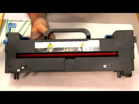 Cleaning an OkiData Fuser: Toner Contamination -