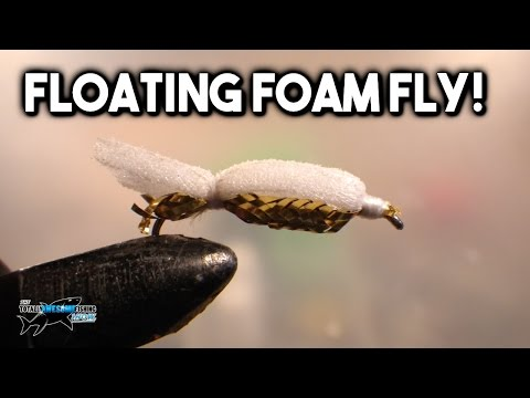 FLY TYING - The Floating Foamback Fly for Trout Fishing