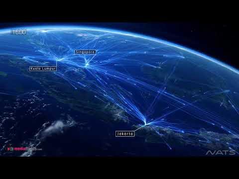 MediaFlights.com Asia Pacific Skies