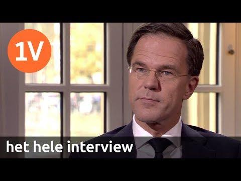 Het hele interview met minister-president Mark Rutte
