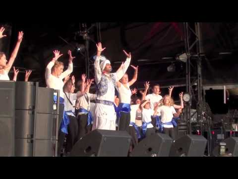 Malmesbury School Project with the Dhol Foundation WOMAD 2011 pt2