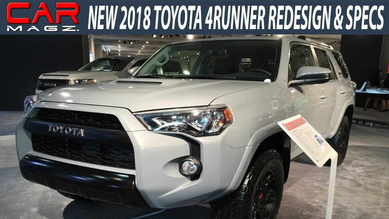 2018 Toyota 4runner Redesign Specs And Review