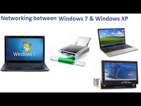 How To Configure Network Between  Windows 7 And XP Computers