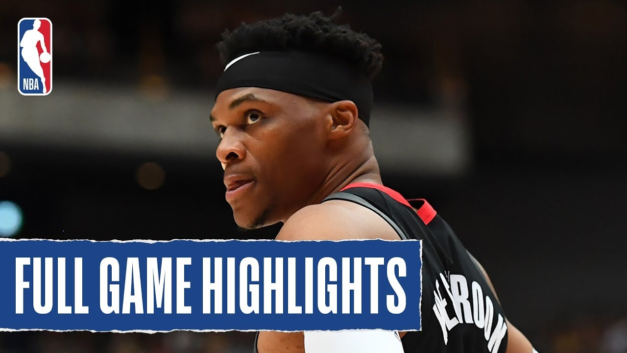 Raptors At Rockets Full Game Highlights October 10 2019