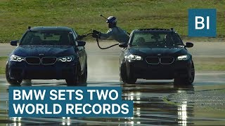 BMW Just Refueled A Car Air Force Style While Drifting