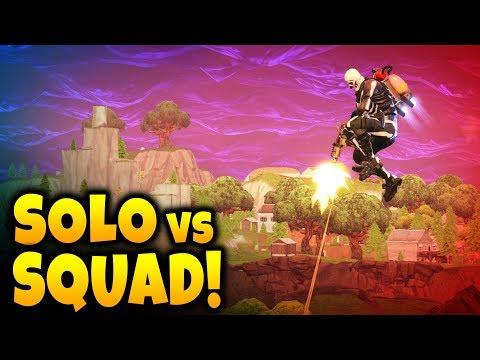 SOLO vs SQUAD TUTORIAL  20 KILLS Gameplay  Fortnite Tipps & Tricks
