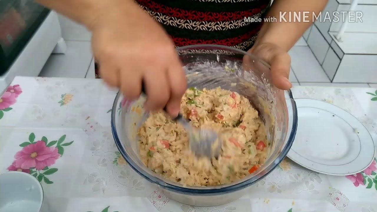 sobras de arroz e frango