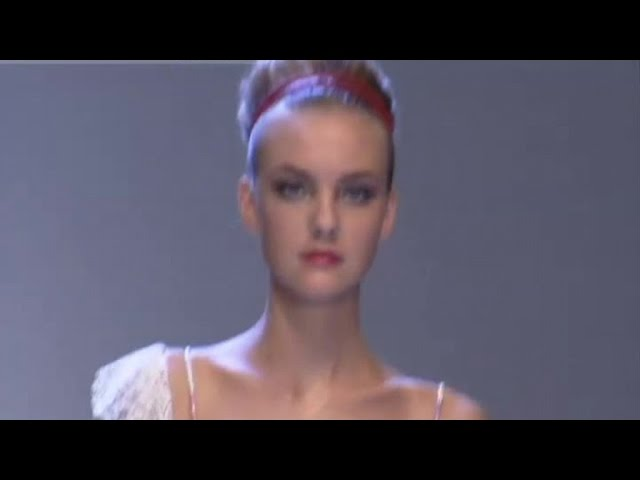 Valentino Fashion Show Spring Summer Paris 2007 By Fashion Channel
