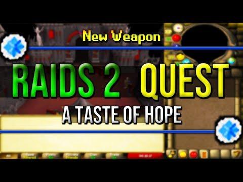 Runescape Raids 2 Quest Release A Taste of Hope, PMod Explanation OSRS, He Cant Believe It