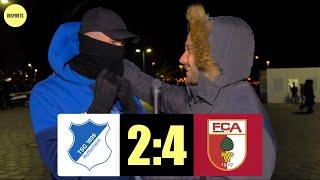 TSG HOFFENHEIM VS FC AUGSBURG │DIE HOFFENHEIMER MIT DER 4. NIEDERLAGE IN FOLGE